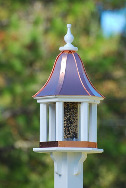 "12""W x 28""H - Hexagon Gazebo Birdfeeder"