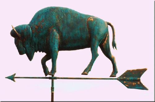Large Buffalo Weathervane 2