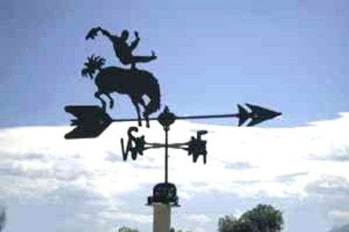 Bronco Rider Weathervane