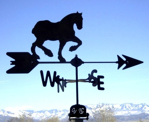 Clydesdale Horse Weathervane