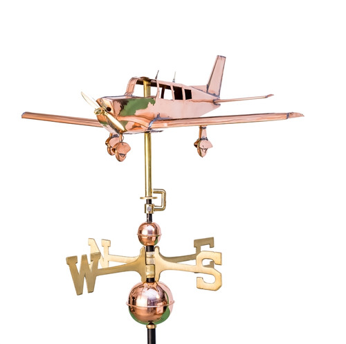 Low Wing Plane Weathervane