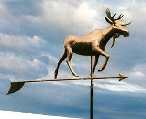 Large Moose Weathervane