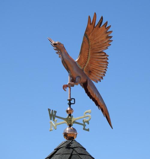 Flying Pheasant Weathervane