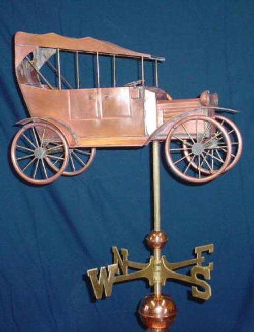 Antique Car Weathervane 3