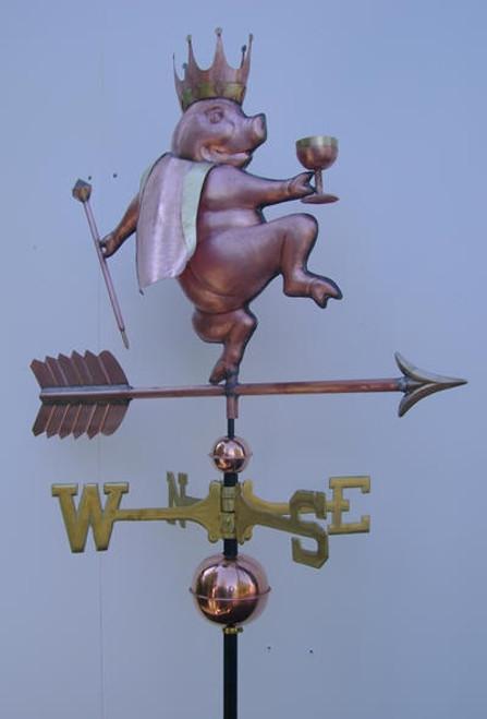 King Pig Weathervane