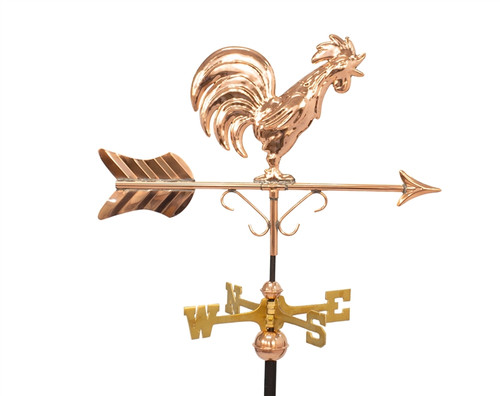 Small Crowing Rooster Weathervane