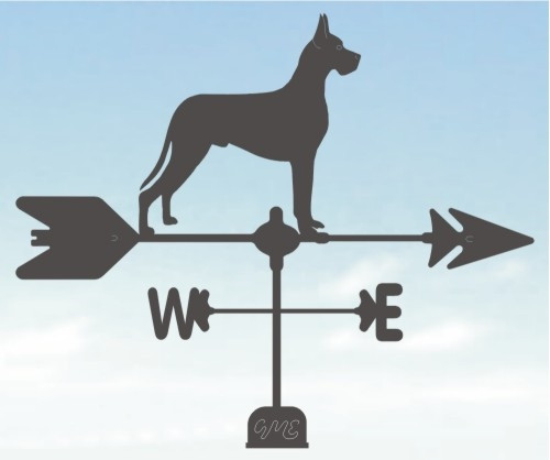 Cropped Ear Dane Weathervane
