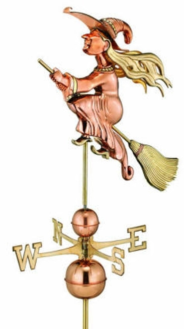 Witch Weathervane 2