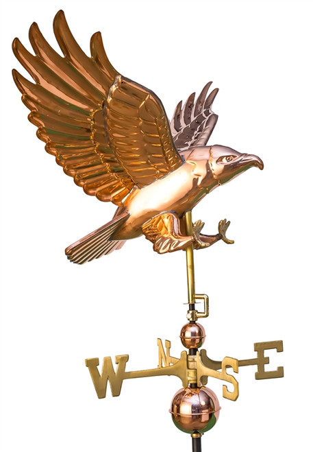 Diving Hawk Weathervane
