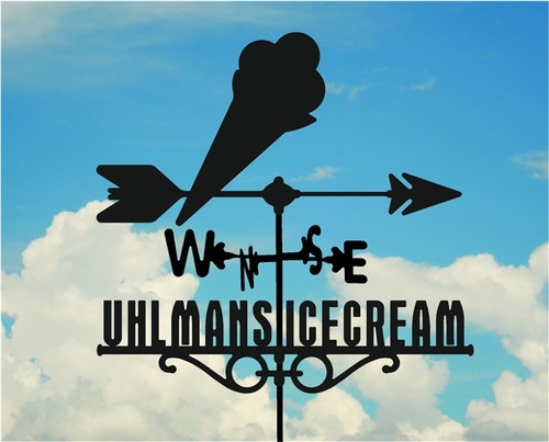 Custom Icecream Weathervane