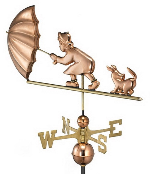 Blustery Day Weathervane