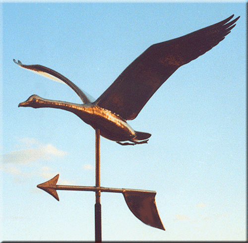 Flying Goose Weathervane