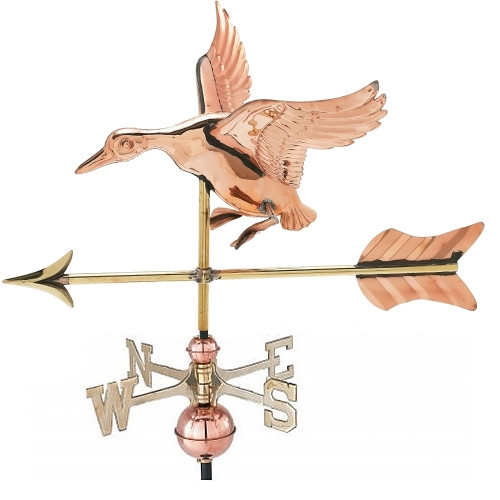 Small 3-D Duck Weathervane