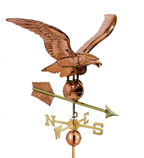 Large Smithsonian Eagle Weathervane