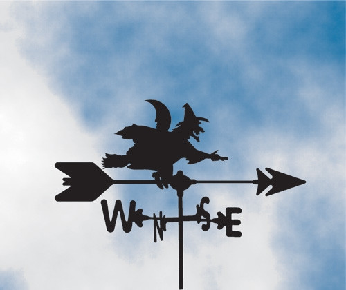 Witch Weathervane 1