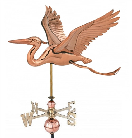 Small Heron Weathervane