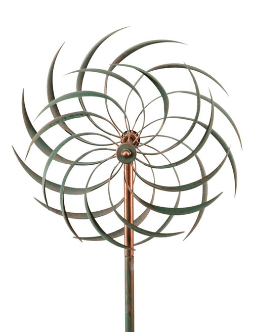 PATINA WINDSWEPT KINETIC WIND SPINNER