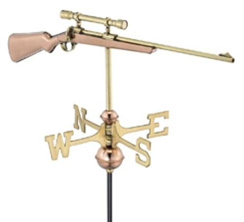 Small Rifle Weathervane