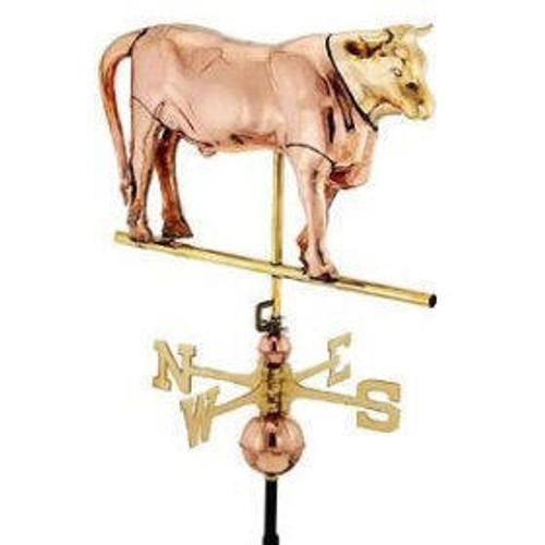 Full Bodied Bull Weathervane