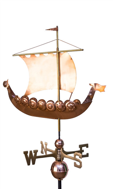 Viking Ship Weathervane