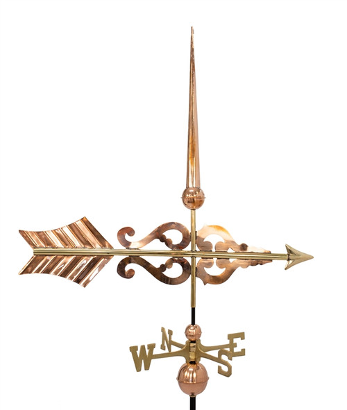 Scroll Arrow Weathervane