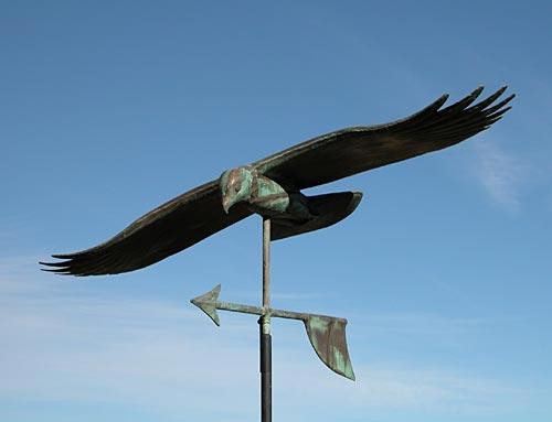Soaring Hawk Weathervane