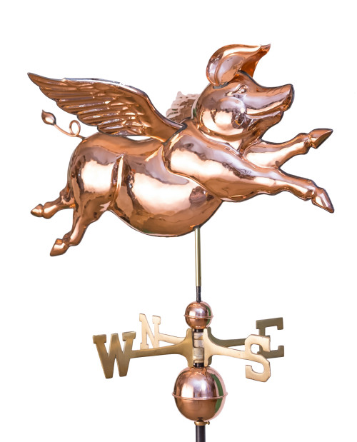 Flying Pig Weathervane 1