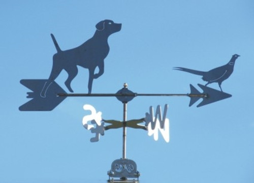 Pointer and Pheasant Weathervane
