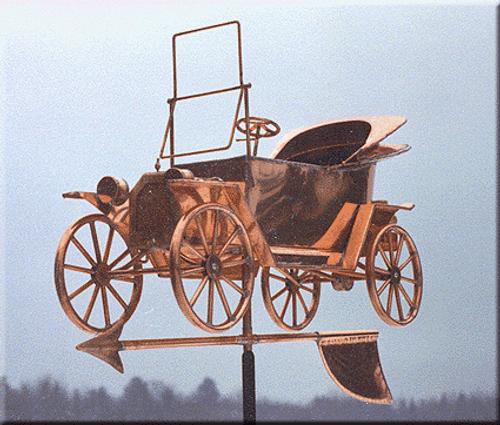 Antique Car Weathervane