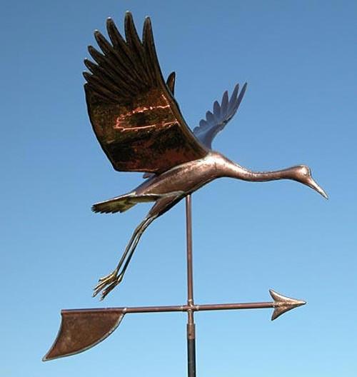 Crane Weathervane