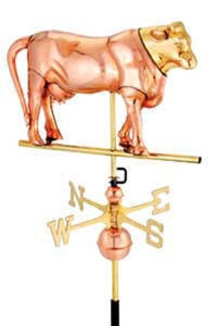Full Bodied Cow Weathervane
