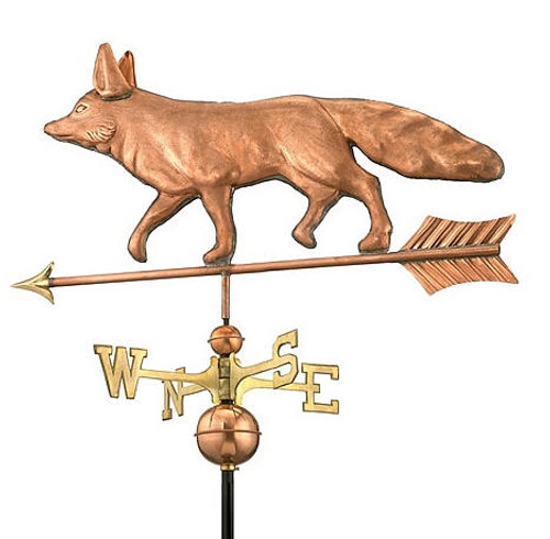 Walking Fox Weathervane