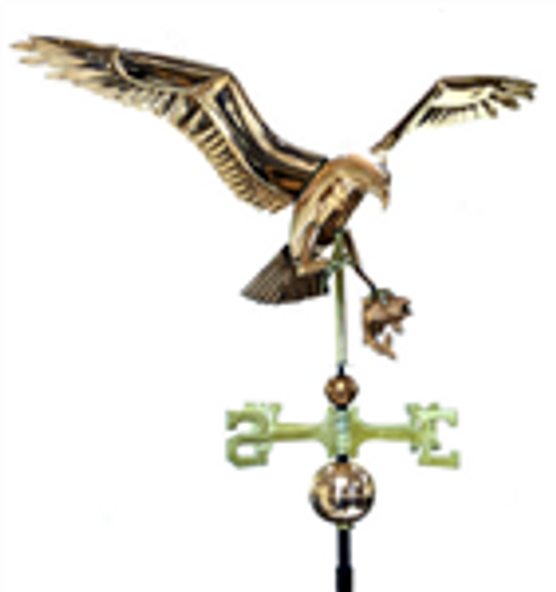 Deluxe Osprey with Fish Weathervane 1