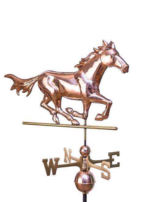Running Horse Weathervane 2