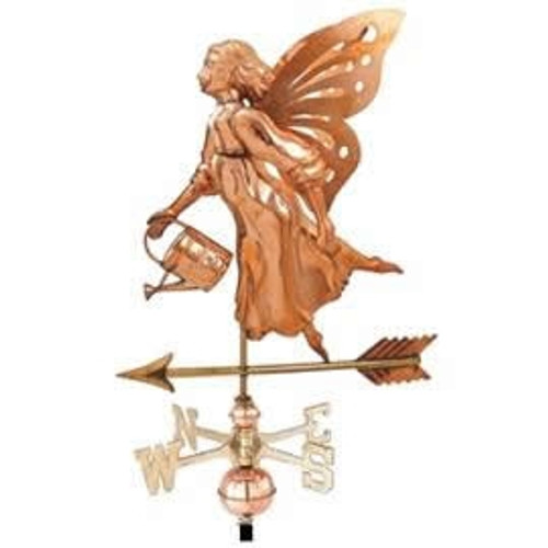 Fairy with Watering Can Weathervane
