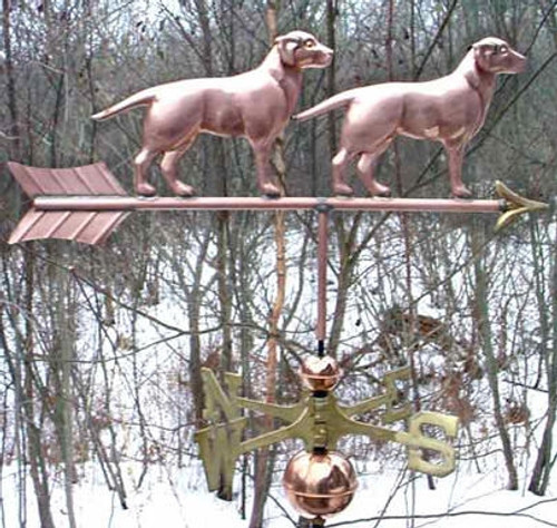 Two Labs Weathervane