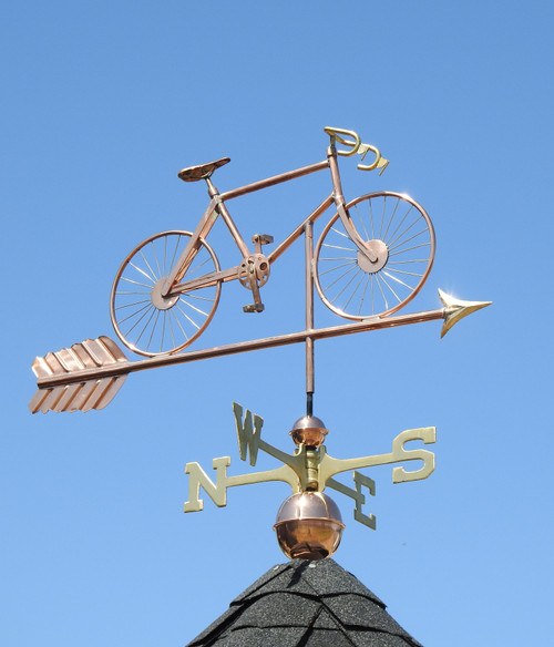 Road Bike Weathervane