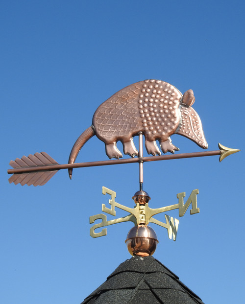 Armadillo Weathervane
