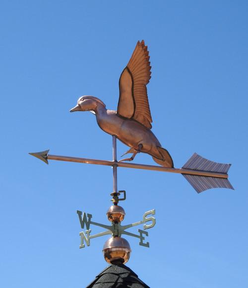 Jumbo landing Duck Weathervane