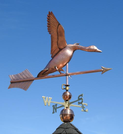 Jumbo Landing Goose Weathervane