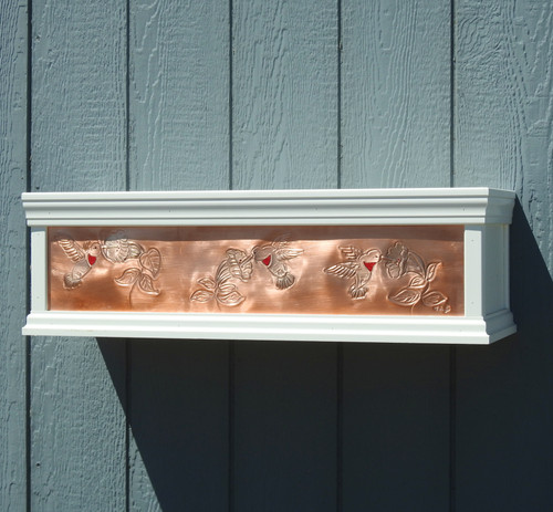 Hummingbird window box