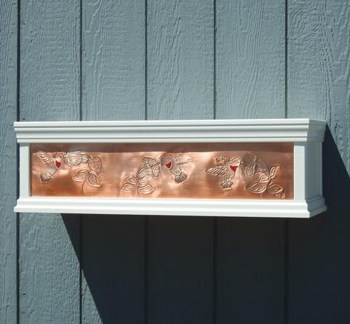 Hummingbird window box