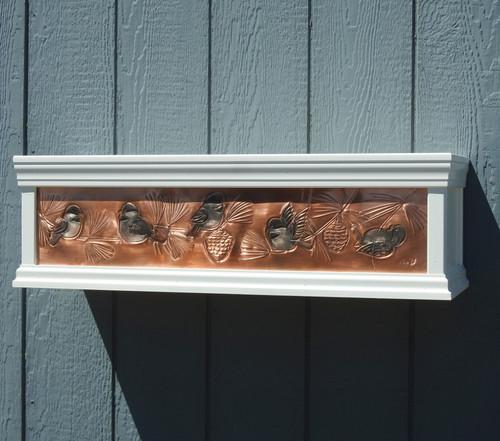 Chickadee Window Box
