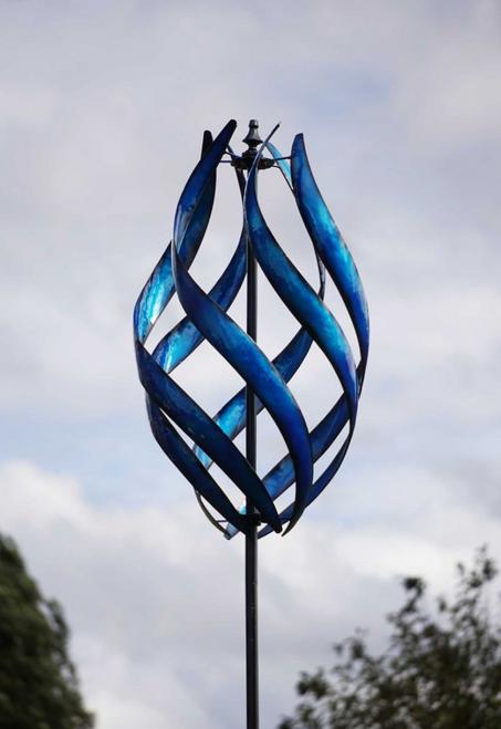 STRATUS BLUE KINETIC WIND SPINNER