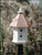 Estate Birdhouse With Copper Roof