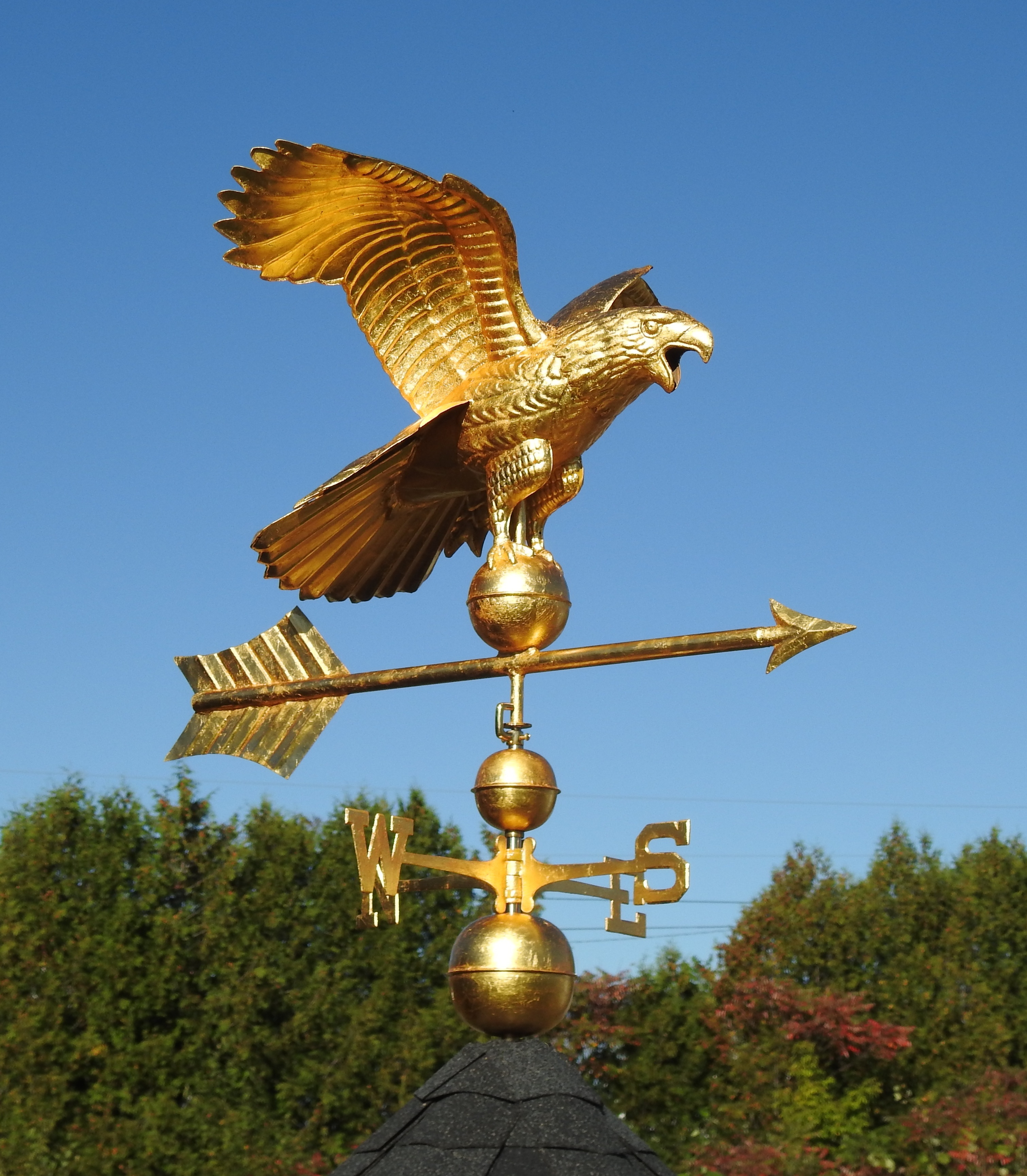 Weathervane and Finial Finishes