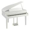 Yamaha CLP-765GPPWH Clavinova Digital Grand Piano, Polished White