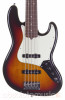 Fender American Pro Jazz V 5 String Bass, 3-Color Sunburst, Rosewood (b-stock)