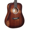 Martin D Jr-10E Distressed StreetMaster Electro-Acoustic Guitar, Mahogany Burst