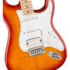 Fender Affinity Series Stratocaster FMT HSS Electric Guitar, Sienna Sunburst, MA